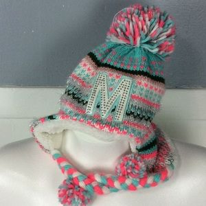 Justice One Size Girls Warm Winter Hat OS